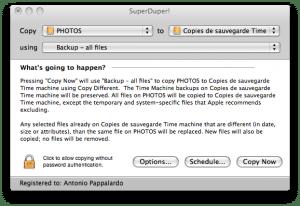 Choisissez le disque dur Source et le disque dur Destination.
