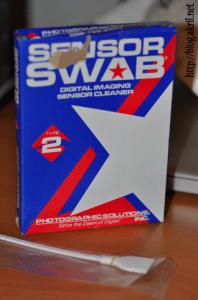Bâtonnets Sensor Swab