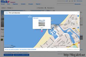 Geo-localisation sur Flickr