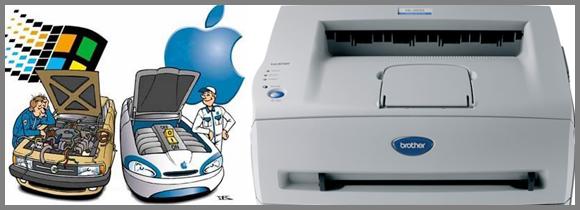 Imprimante en réseau PC Mac