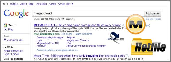 Recherches Google DDL