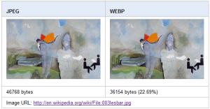 WebP Google Project