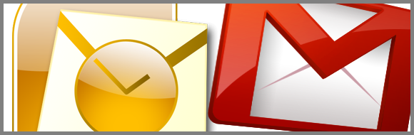 Microsoft Outlook et GMail