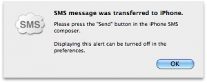 SMS-Transfered