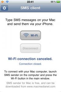 SMSClient iPhone