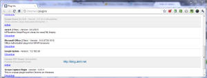 Plugins google Chrome