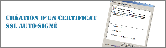 Bannière Certificat SSL