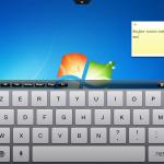 apercu avec clavier ipad