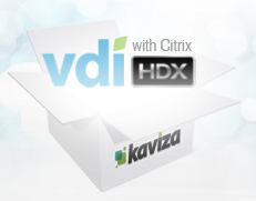 vdi in a box citrix kaviza