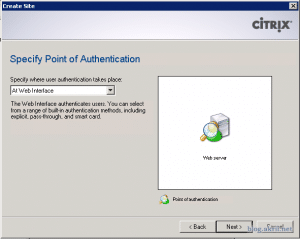 point of authentication