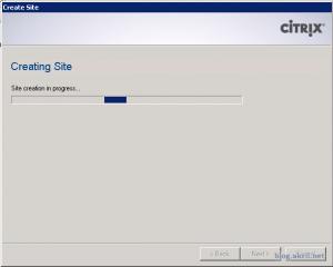 end configuring xenapp web sites 2