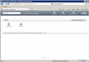main page xenapp