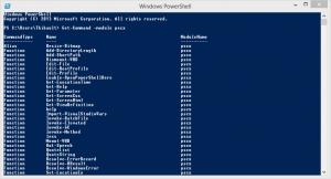 pscx liste commands