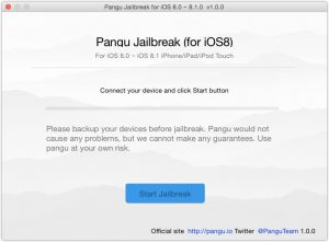 Pangu8 Jailbreak on Mac