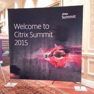Welcome Citrix Summit