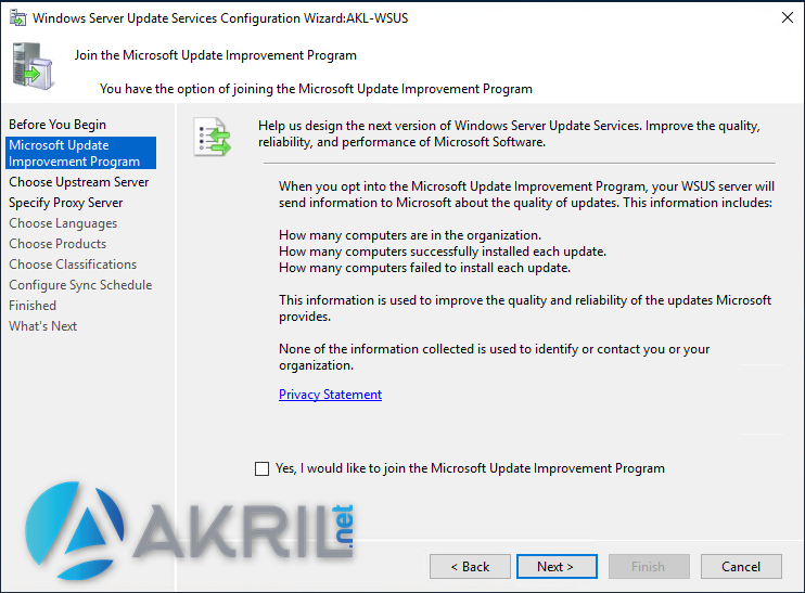 Microsoft Update Improvement Program