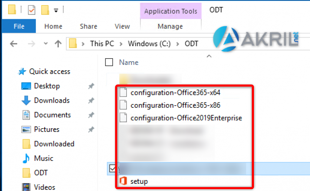 Office Deployment Tool - Installation 3/3