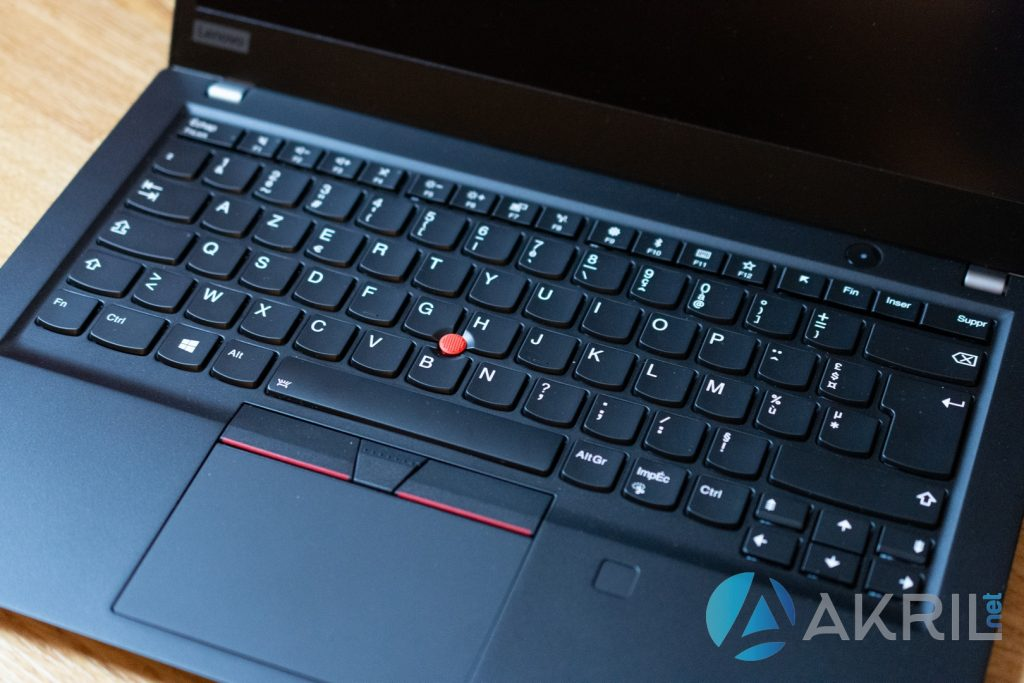 Lenovo ThinkPad T490S - Clavier