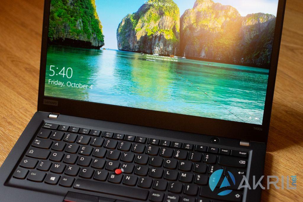 Lenovo ThinkPad T490S - Aperçu général