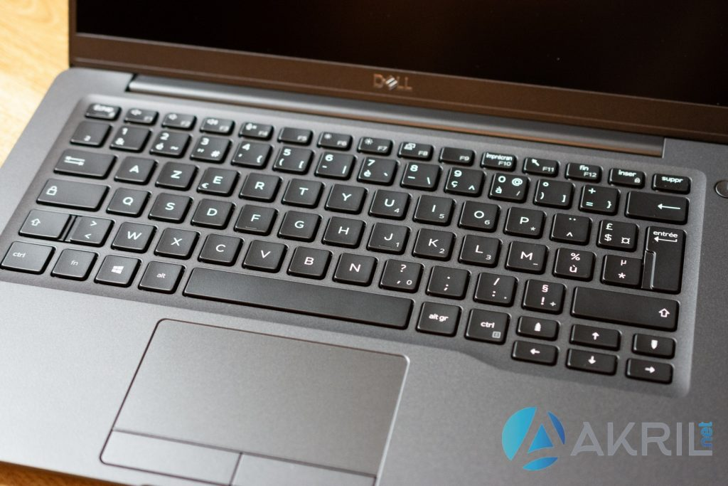 DELL Latitude 7400 - Clavier et trackpad