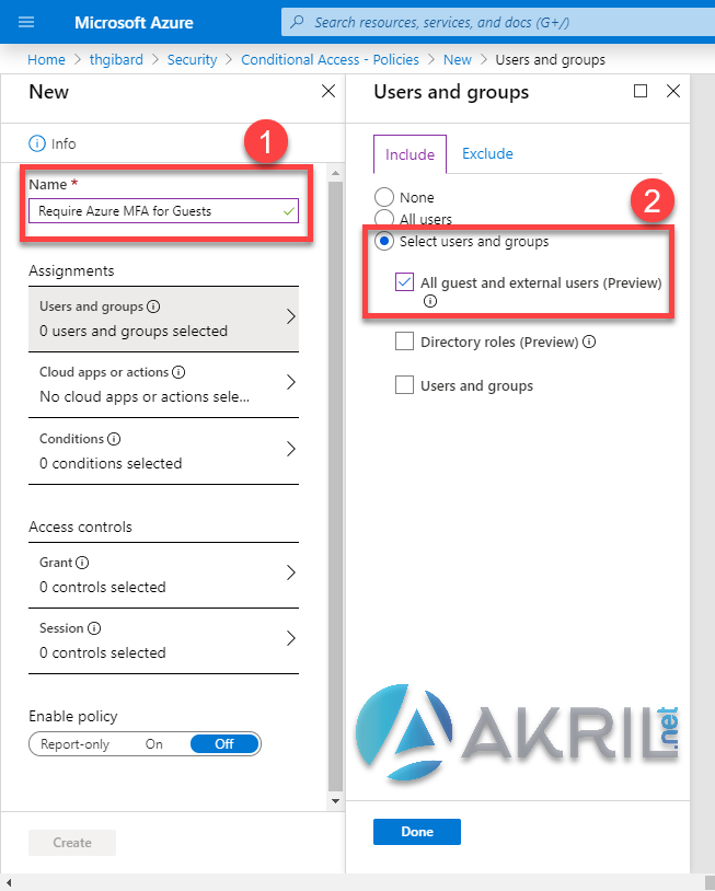 Azure Conditional Access - All guest and external users