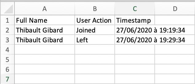 Événements au sein de votre réunion Microsoft Teams