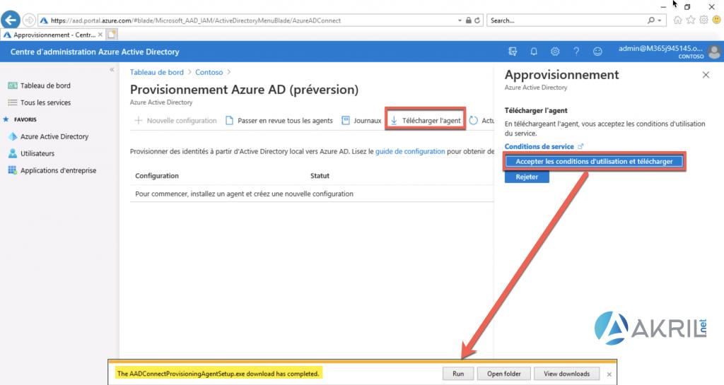 Déploiement de Azure AD Connect - Cloud Provisioning (2)