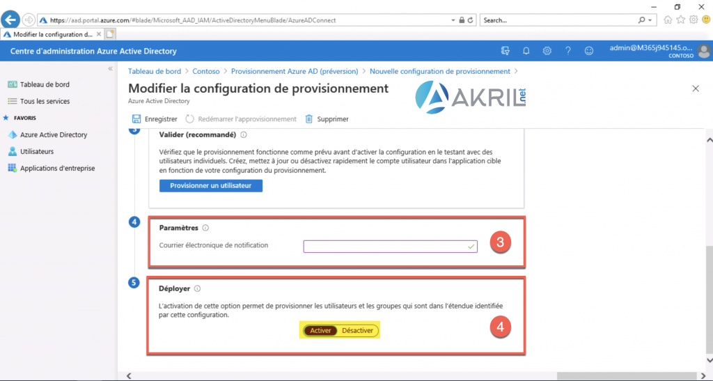 Configuration de Azure AD Connect - Cloud Provisioning (5)