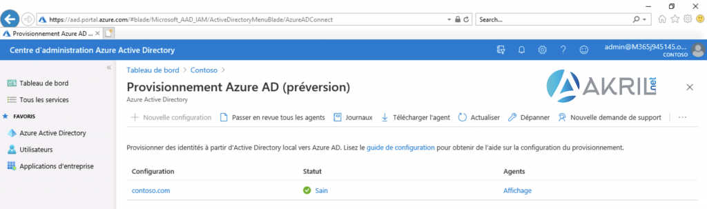 Configuration de Azure AD Connect - Cloud Provisioning (7)