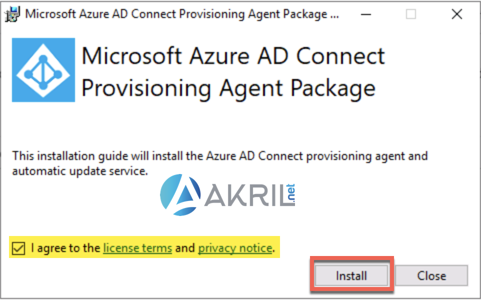 Déploiement de Azure AD Connect - Cloud Provisioning (1)