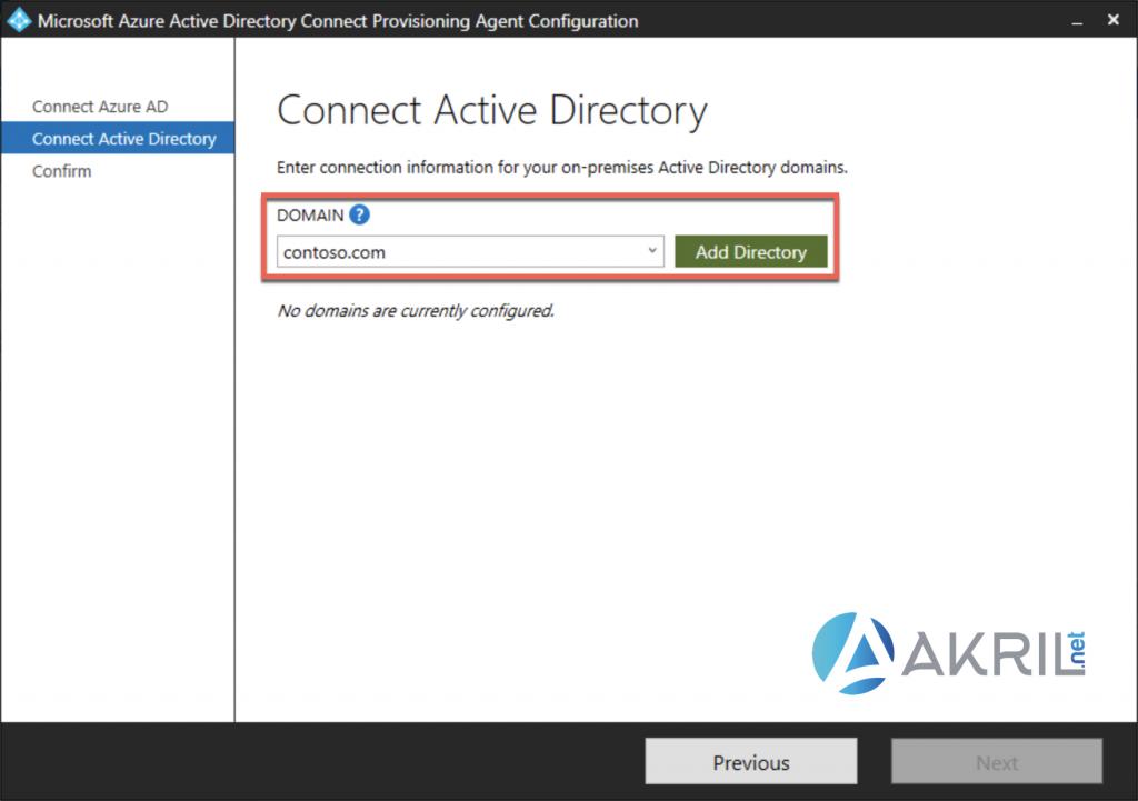 Déploiement de Azure AD Connect - Cloud Provisioning (4)