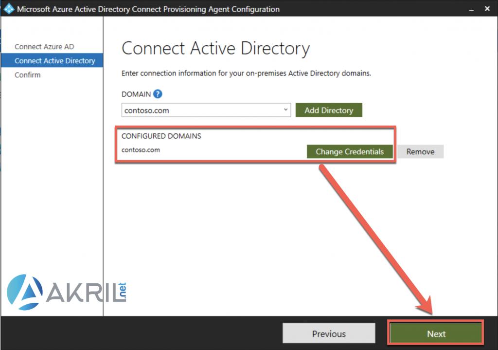 Déploiement de Azure AD Connect - Cloud Provisioning (5)