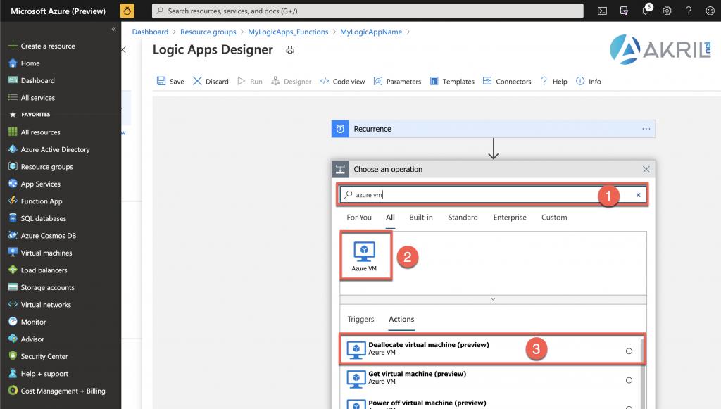 Configuration d'une Azure Logic App (4)