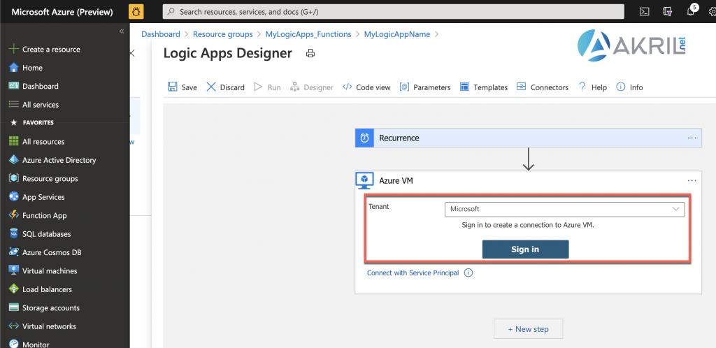 Configuration d'une Azure Logic App (5)