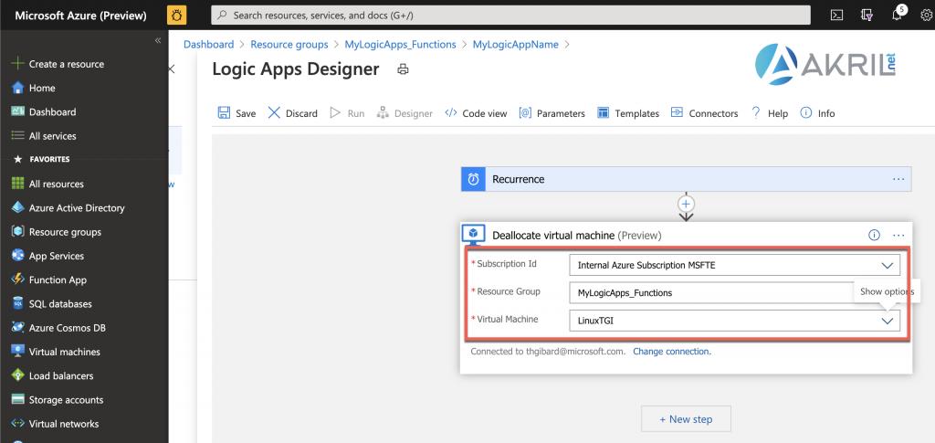 Configuration d'une Azure Logic App (6)