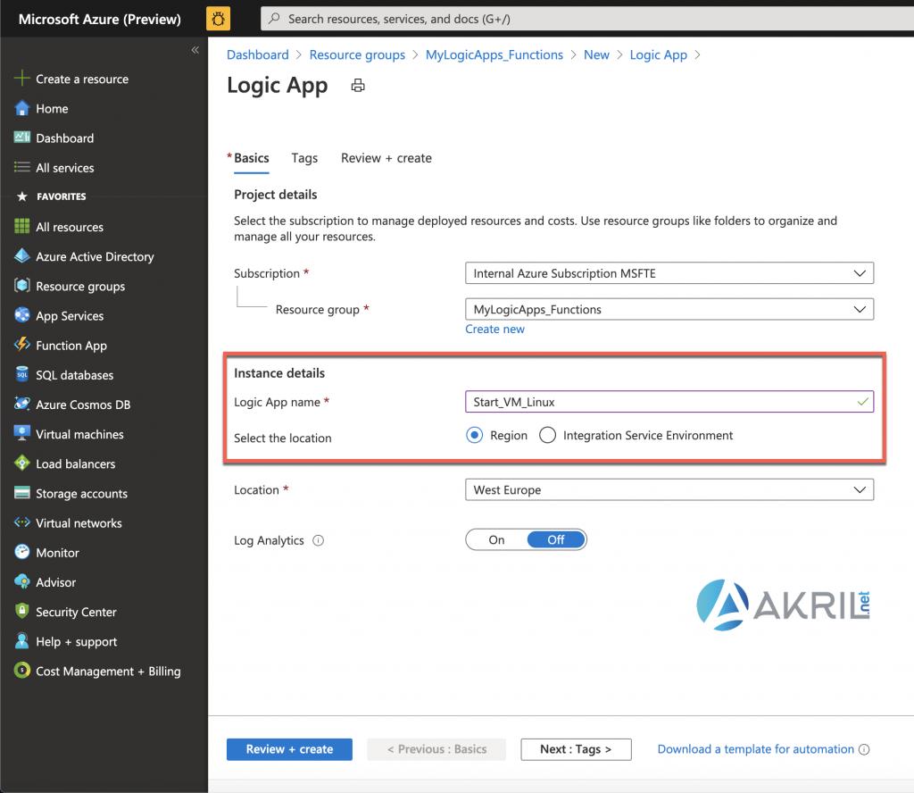 Configuration d'une Azure Logic App (7)