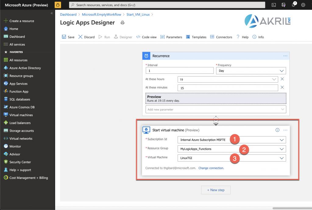 Configuration d'une Azure Logic App (8)