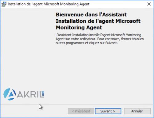 Installation de l'agent Microsoft Monitoring Agent (MMA) pour Azure Sentinel (1)
