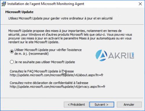 Installation de l'agent Microsoft Monitoring Agent (MMA) pour Azure Sentinel (4)