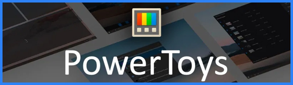 Bannière Microsoft PowerToys