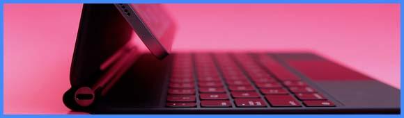 Bannière Clavier iPad