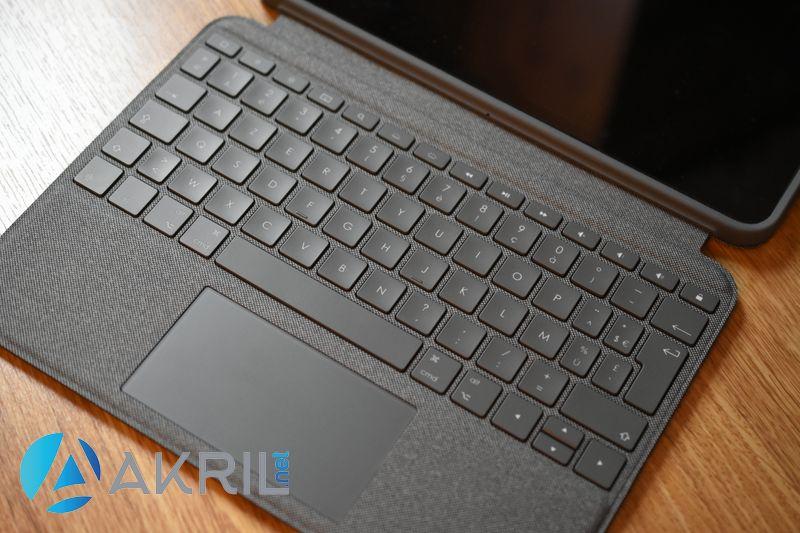 Aperçu du clavier - Coque Logitech Folio Touch